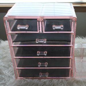 Makeup & Jewelry Storage Case Display